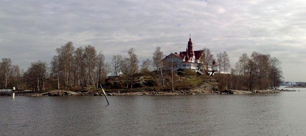 An island off Helsinki